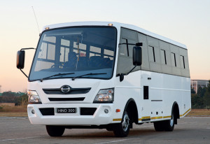 Using the latest construction methods the carrying capacity of the new Hino 300-based buses will increase with up to four extra passengers