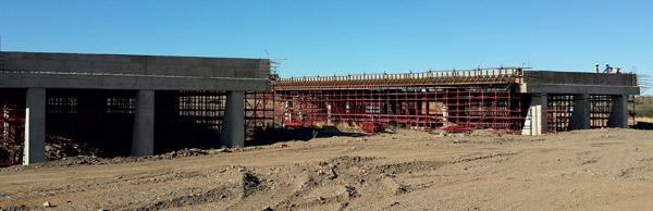 Aveng Grinaker-LTA Upgrading Namibia's Most Dangerous Stretch of Road in progress
