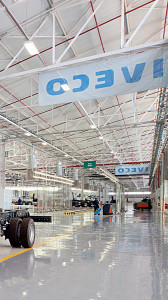 Immaculate... Inside Iveco's ultra-modern production plant in Rosslyn, where a variety of Iveco trucks will be produced.