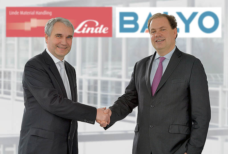 Linde and Balyo seal cooperation - strategic partnership